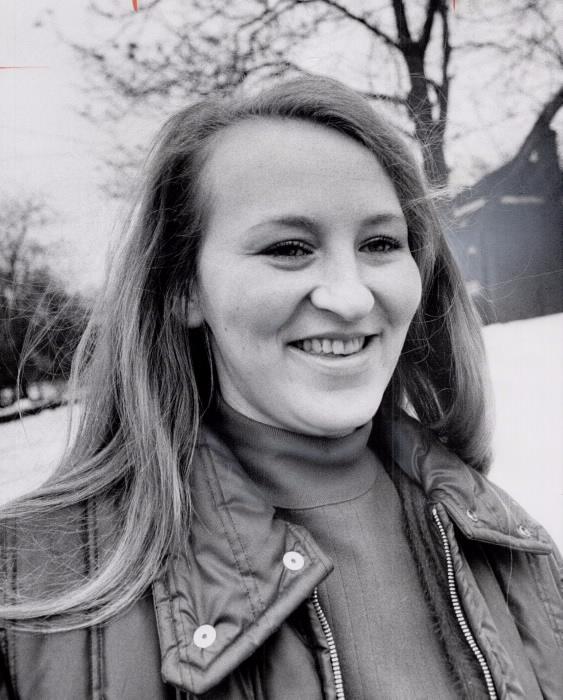 Portrait of a smiling Lorraine Wilkin