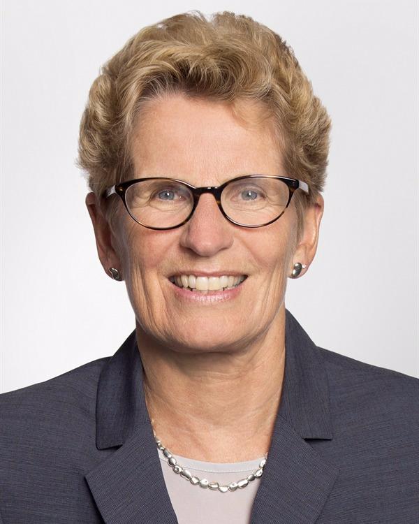 Portrait of Kathleen Wynne